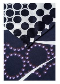 Silk Scarf with Pattern Mix