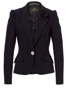 Basler Blazer with Floral Detail
