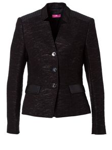 Basler Blazer with Imitation Leather