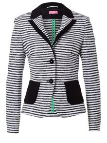 Summer Blazer with Stripes