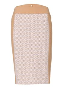 Pencil Skirt With Hole Pattern