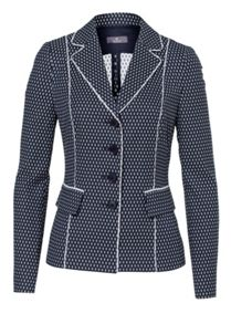 Blazer With Allover-Pattern
