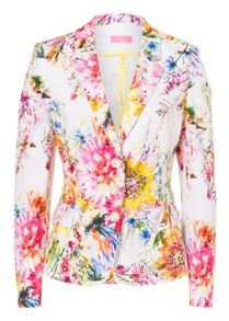 Blazer with Allover Print
