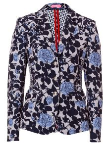 Blazer With Floral Print