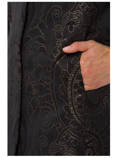 Basler Black and Gold Jacquard Evening Jacket