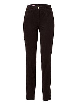 JULIENNE Trousers in Leather Optic