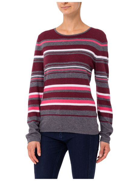 Basler Sweater with Striped Pattern