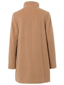 Wool Coat with Cashmere