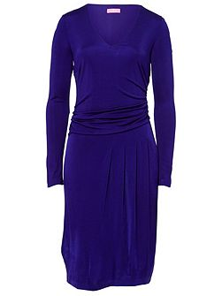 Rouched Jersey Dress