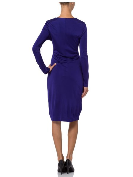 Basler Rouched Jersey Dress