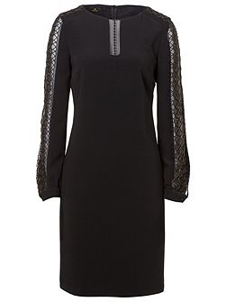 Tunic Dress with Lace Detail