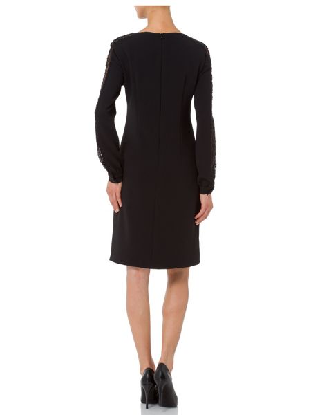 Basler Tunic Dress with Lace Detail