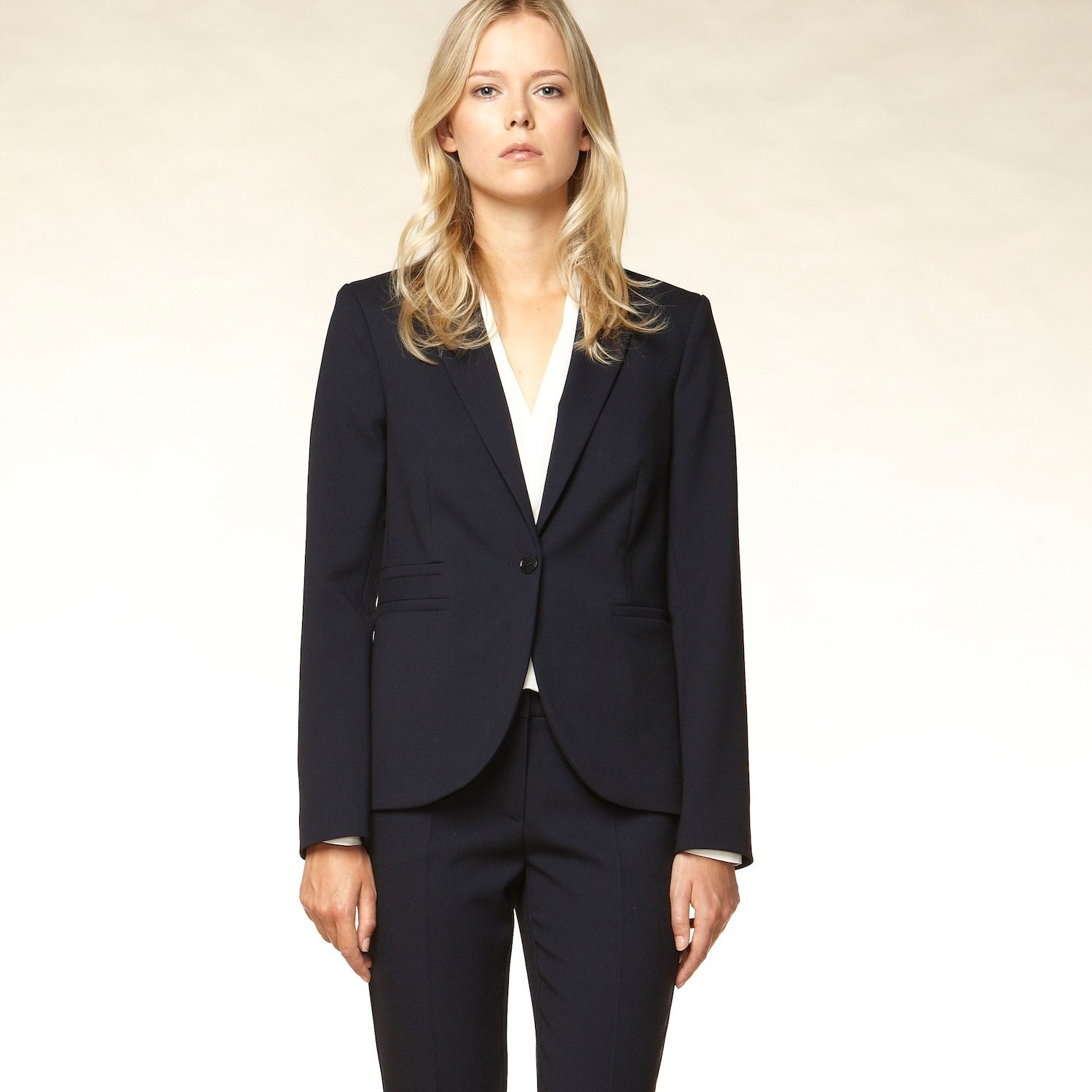Tailored lined blazer