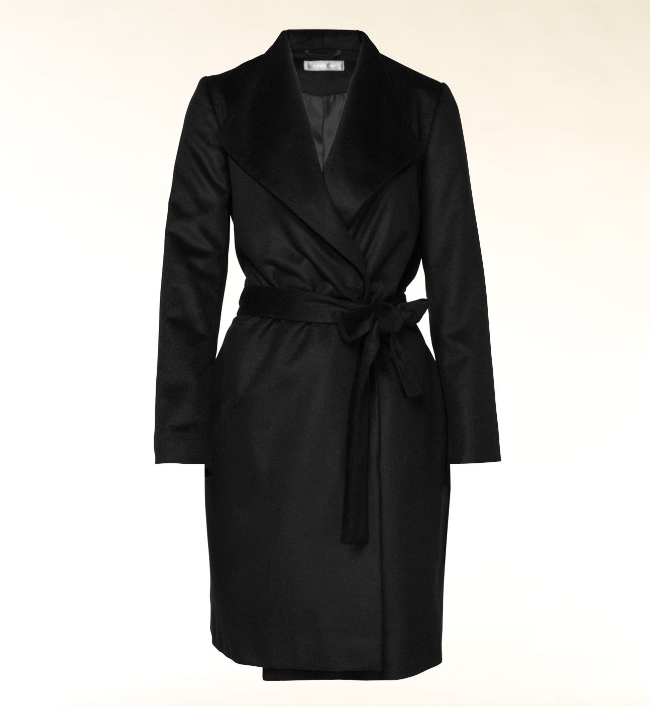 Donna wool trench coat