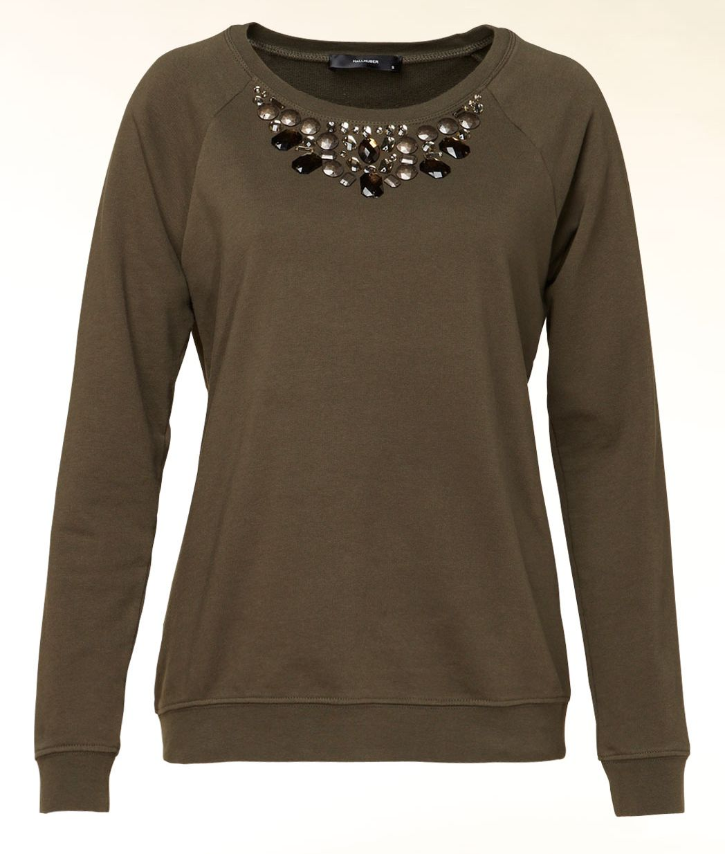Embellished detail sweater