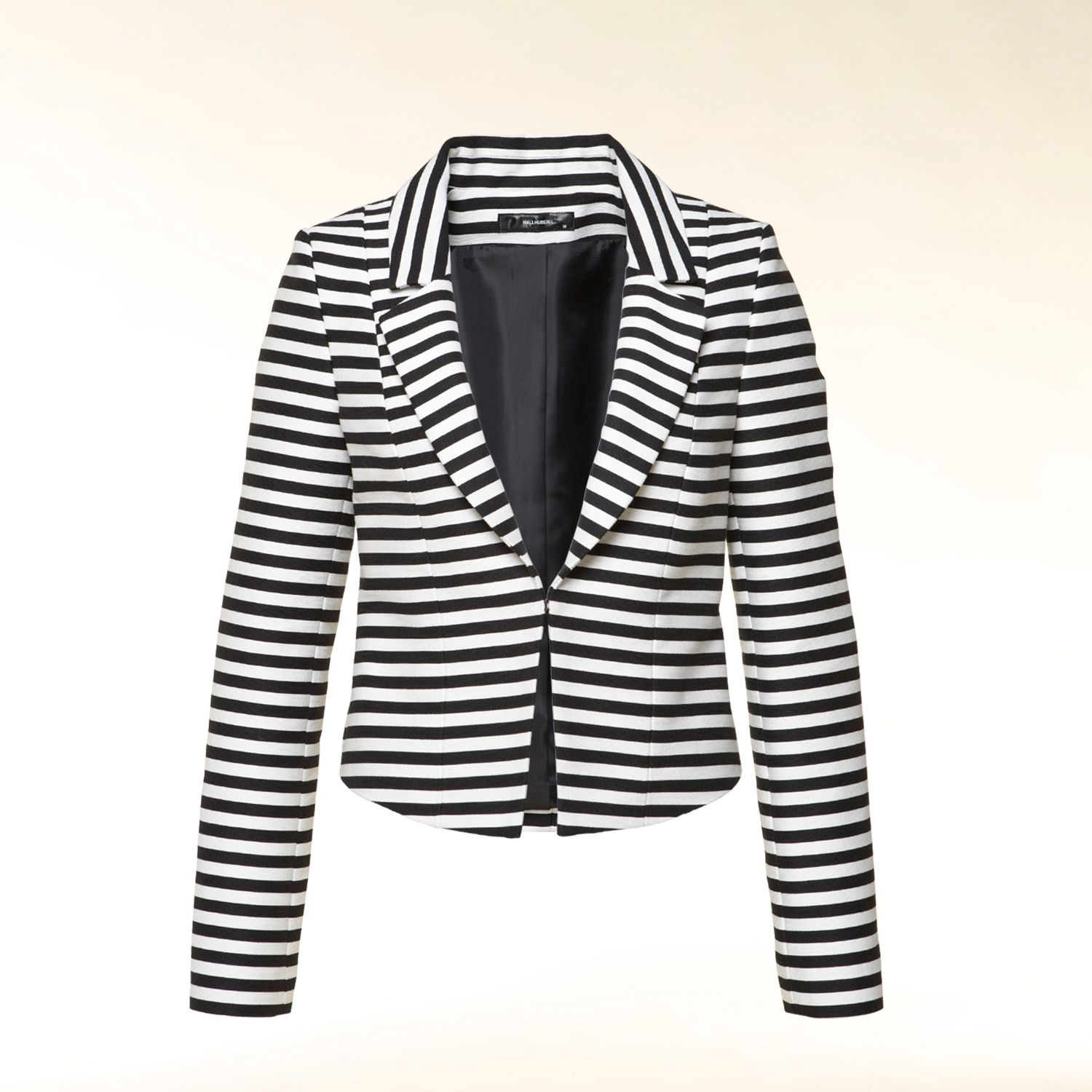 Stripey box jacket
