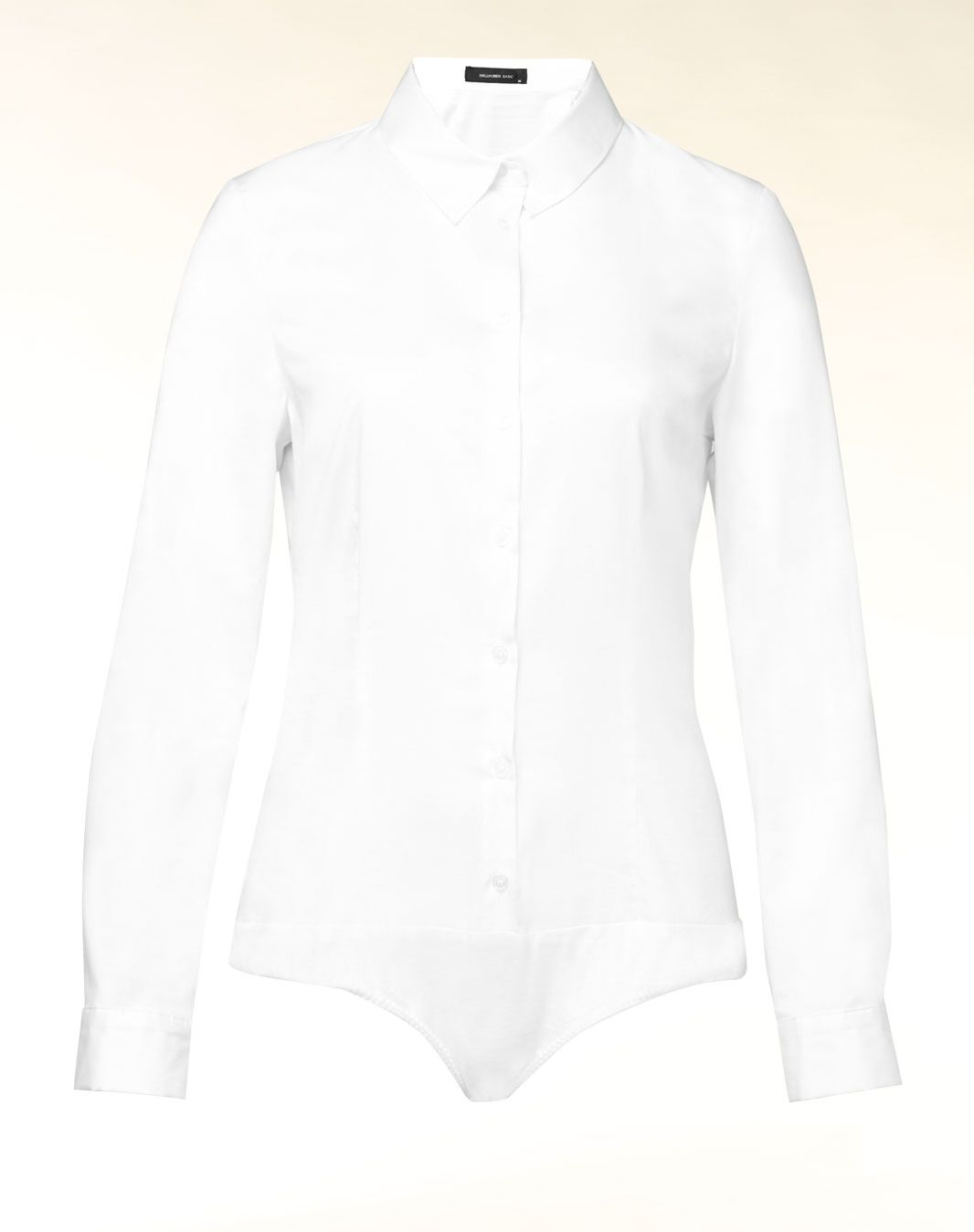 Long sleeved fitted bodysuit shirt