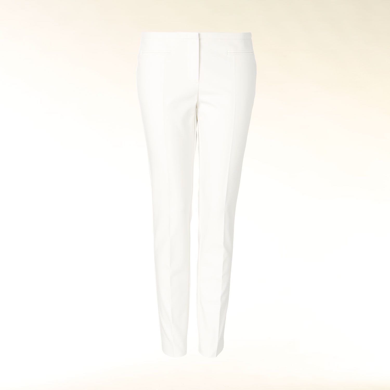 Slim fit pleat front trouser