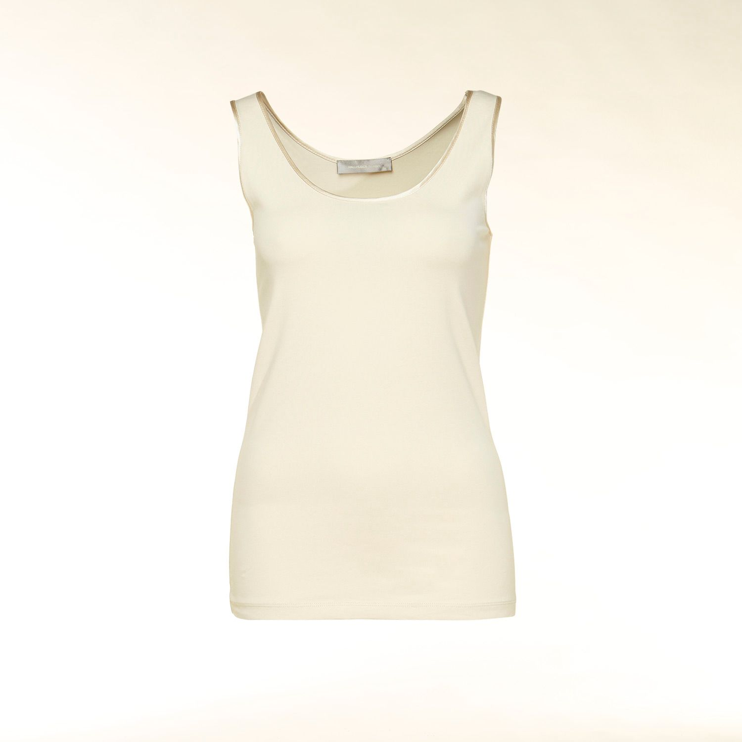 Silk trim camisole