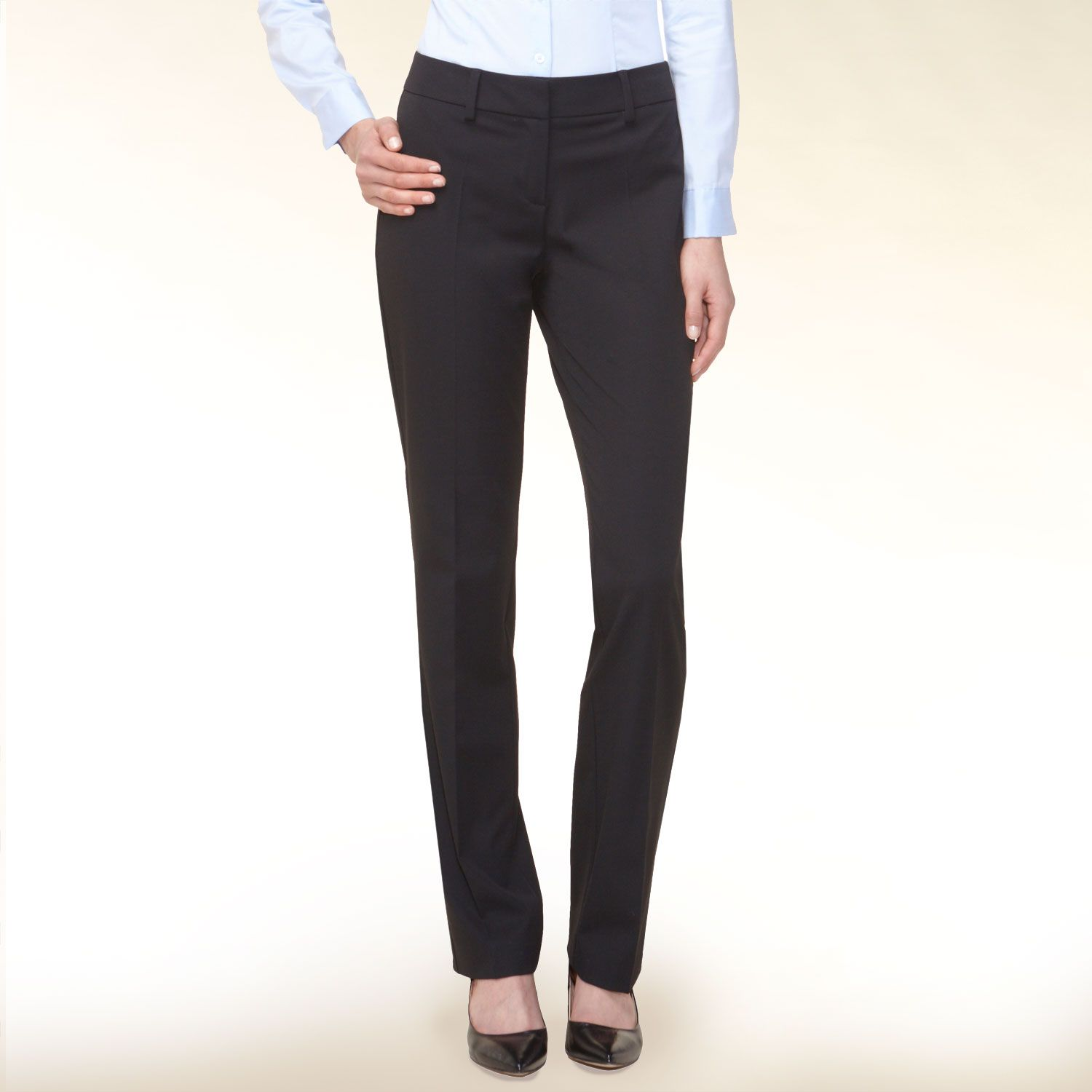 Centre crease smart trouser