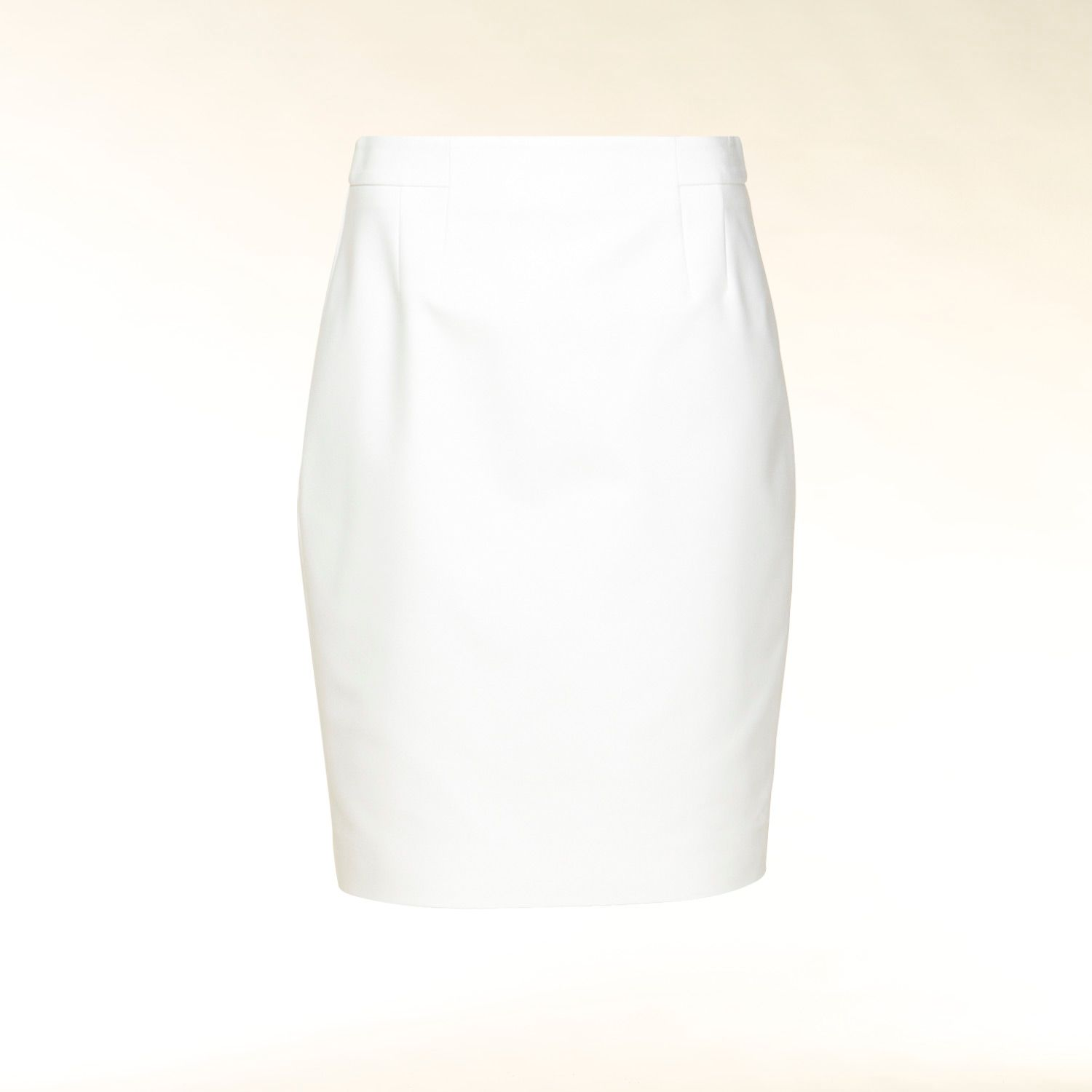 Wide waistband pencil skirt