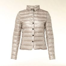 Quilted summer down coat