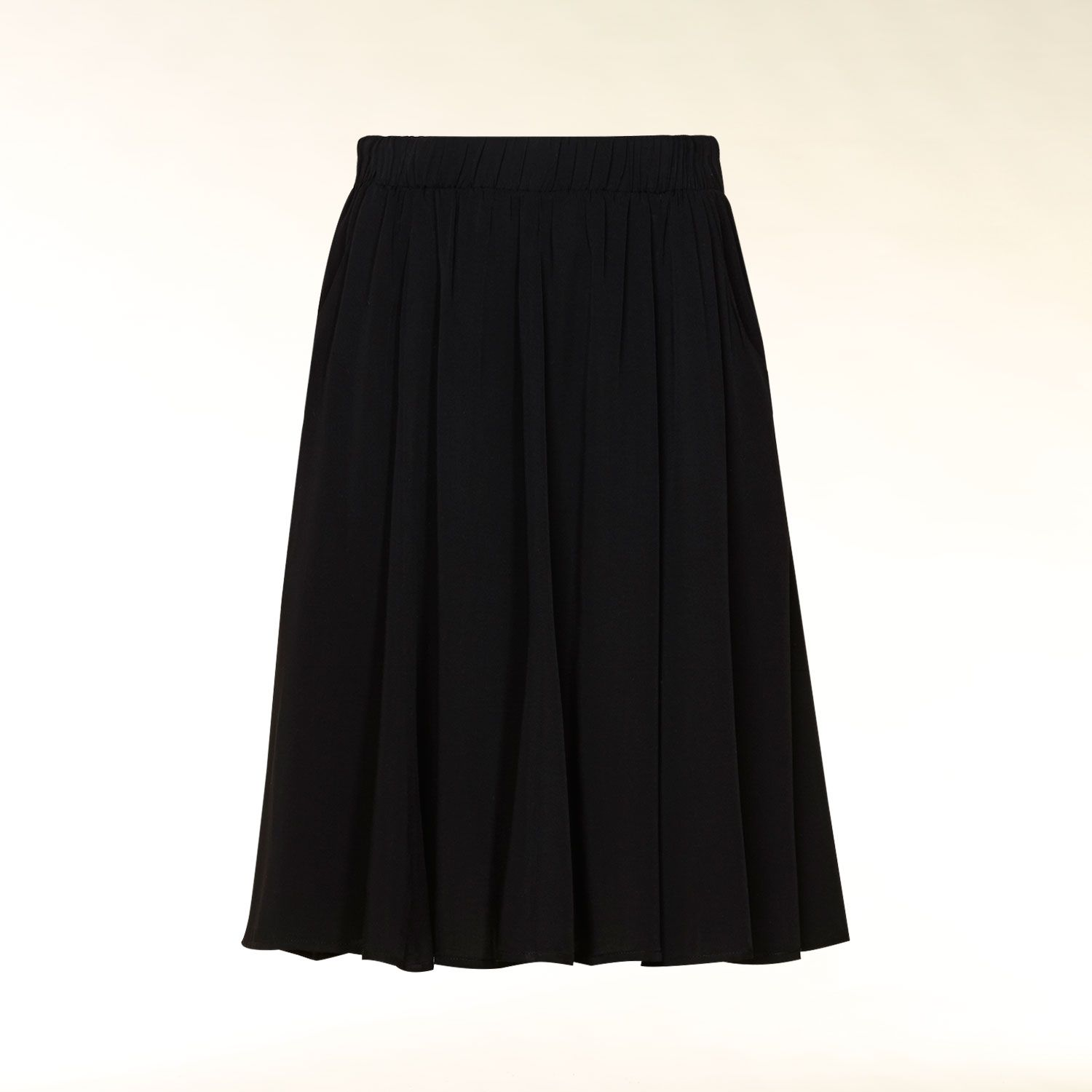Pocket detail godet skirt