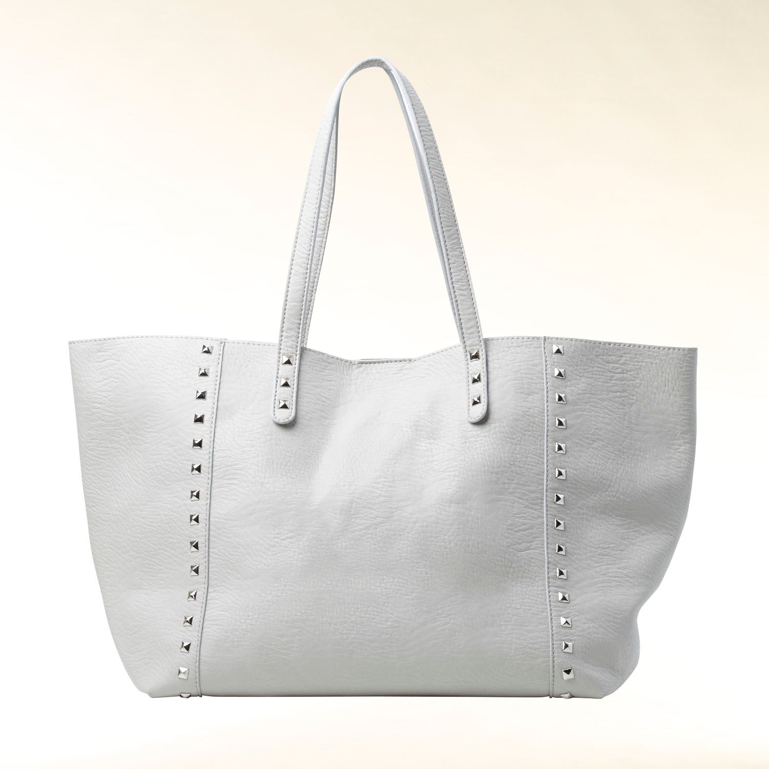 Stud embellished shopper