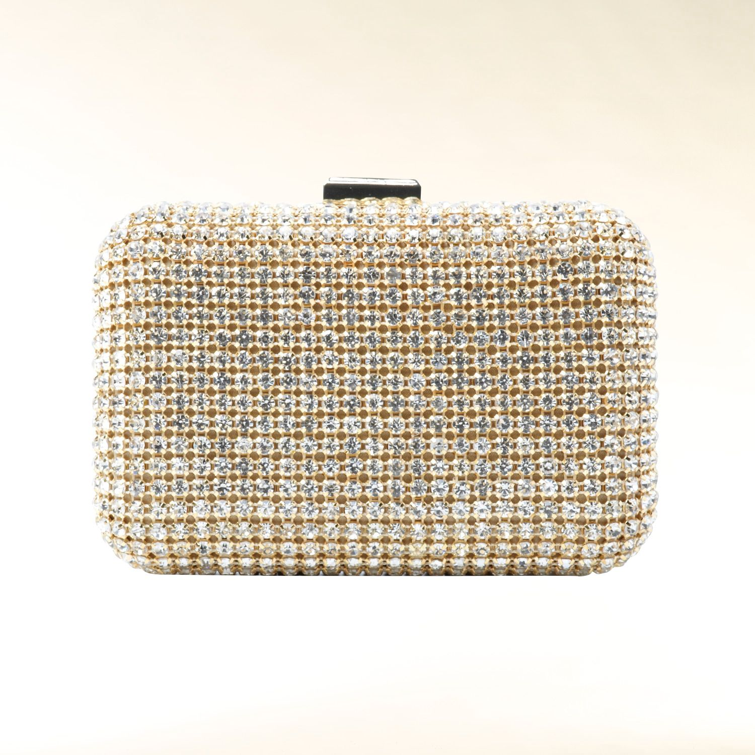 Diamante clutch purse