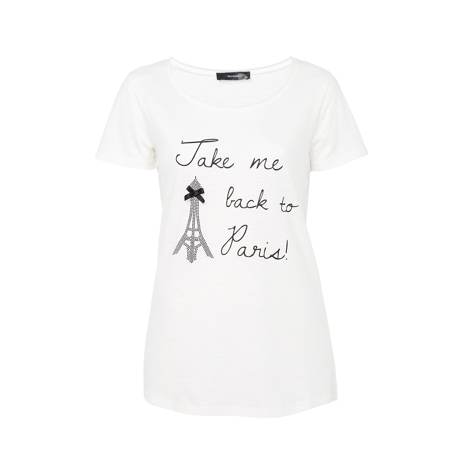 Eiffel tower print T-shirt top