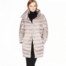 Egg-shaped down coat
