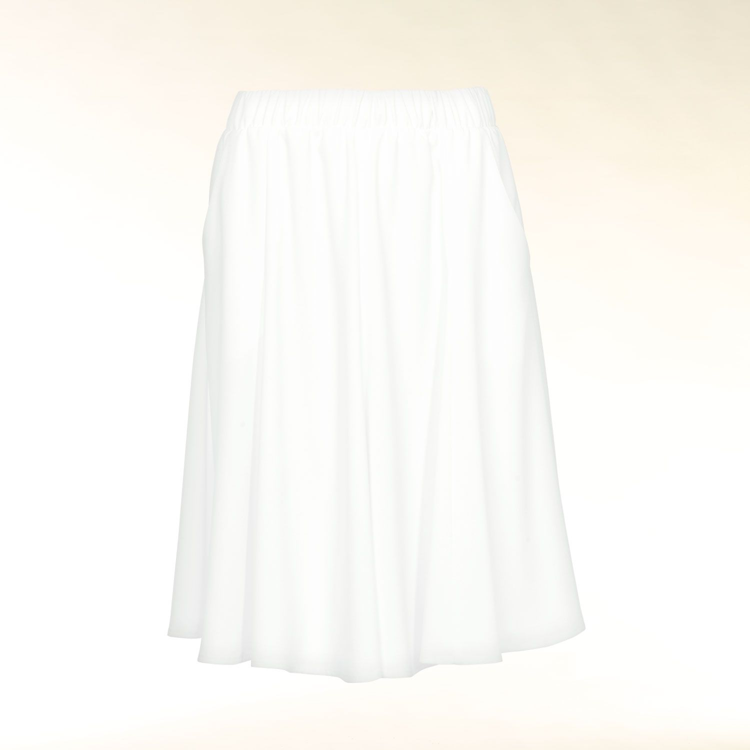 Godet panel  skirt
