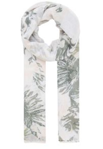 Polyester floral print scarf