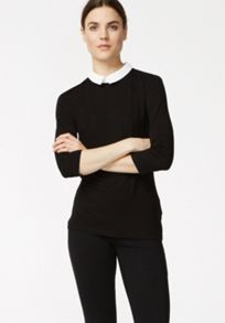 Top with classic collar