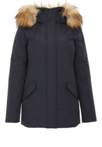 Hallhuber Flat woven fabric cropped parka svenja