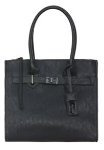 Faux leather leather-like handbag