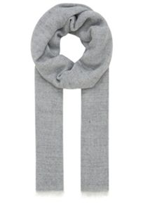 Flat woven fabric salt and pepper scarf
