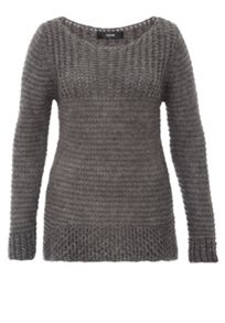 Hallhuber Jumper With Mix-And-Match Knit