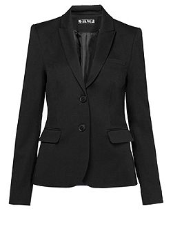 Flat woven fabric business blazer