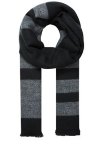 Longhair wool cosy soft check scarf