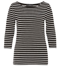 Jersey long sleeve with striped design