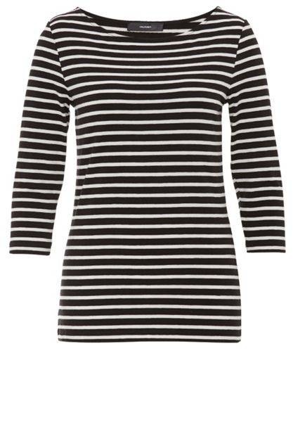 Hallhuber Jersey long sleeve with striped design
