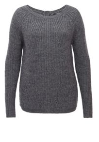 Jumper With Snap Button Placket