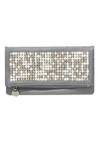 Clutch With Studded Fold-Over Front