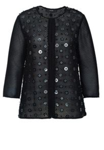 Hallhuber Sequined Mesh Jacket