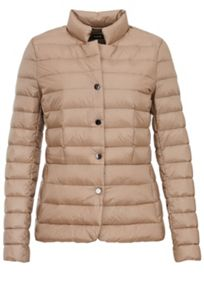 Hallhuber Down jacket with vertical quilting