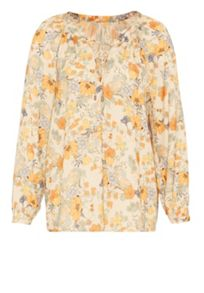 Hallhuber Silk blouse with liberty print