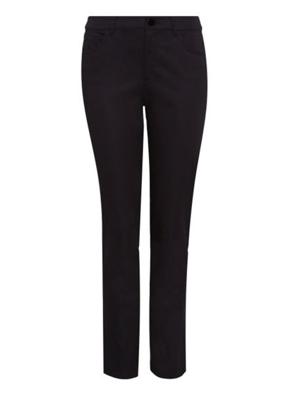 Hallhuber Trousers crafted from cotton silk blend