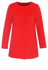 Hallhuber Long Jacket With Round Neckline