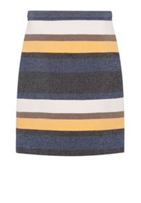 Hallhuber Striped skirt